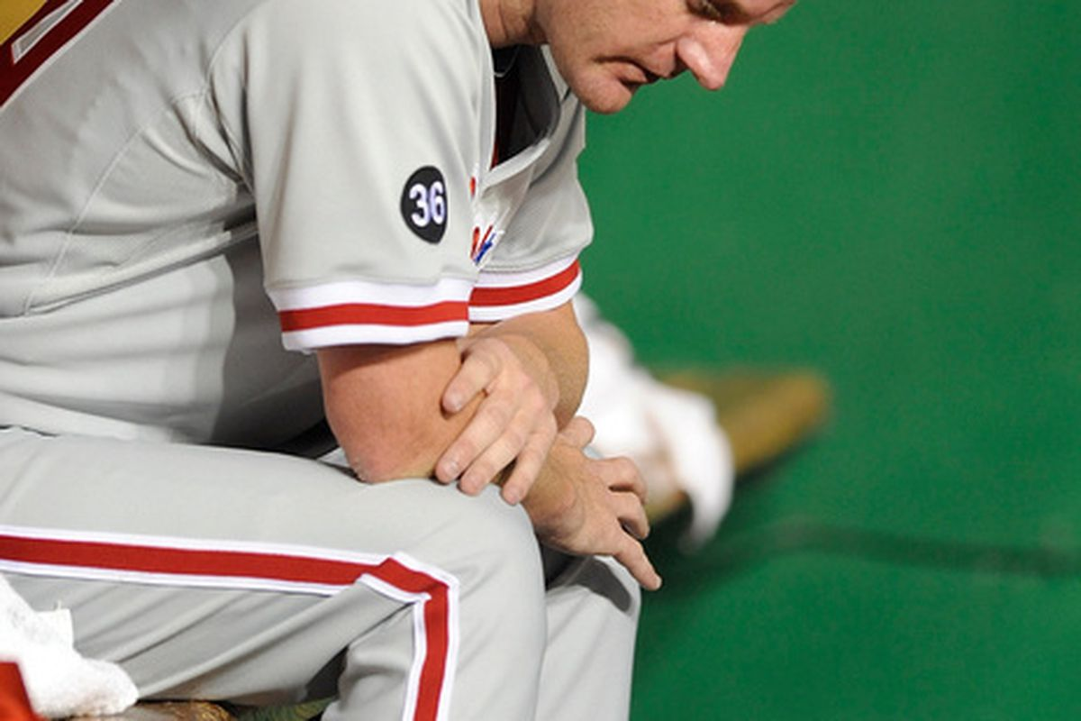 Roy Oswalt, Not History's Greatest Monster  (Photo by Greg Fiume/Getty Images)