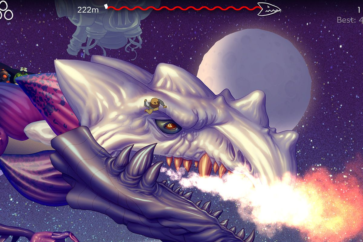 a character rides a giant dragon in EarthNight