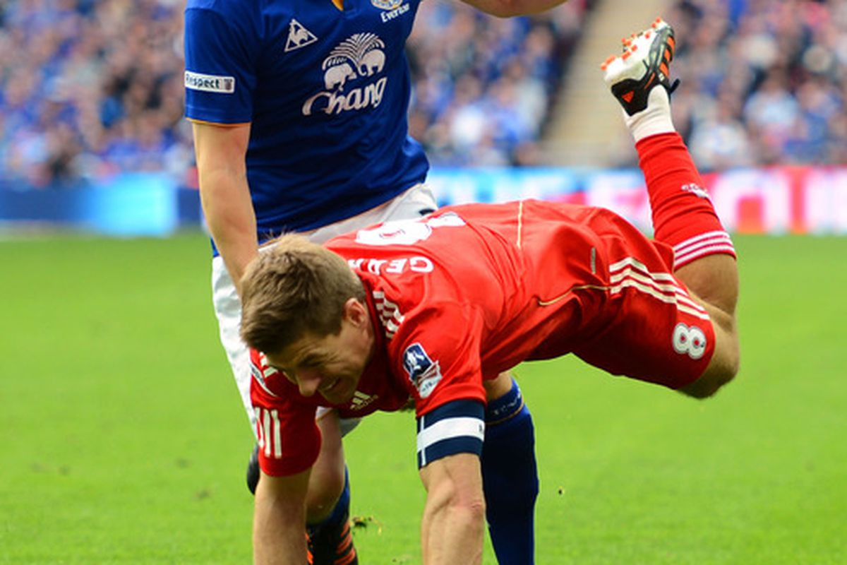Gerrard diving... just like all Liverpool players do