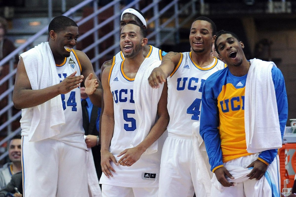 Bruins have won 10 games in a row in those white uniforms.(Photo by Harry How/Getty Images)