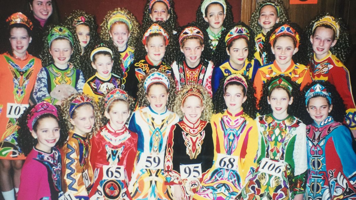 The Glitzy Evolution Of The Age Old Irish Dance Dress Racked