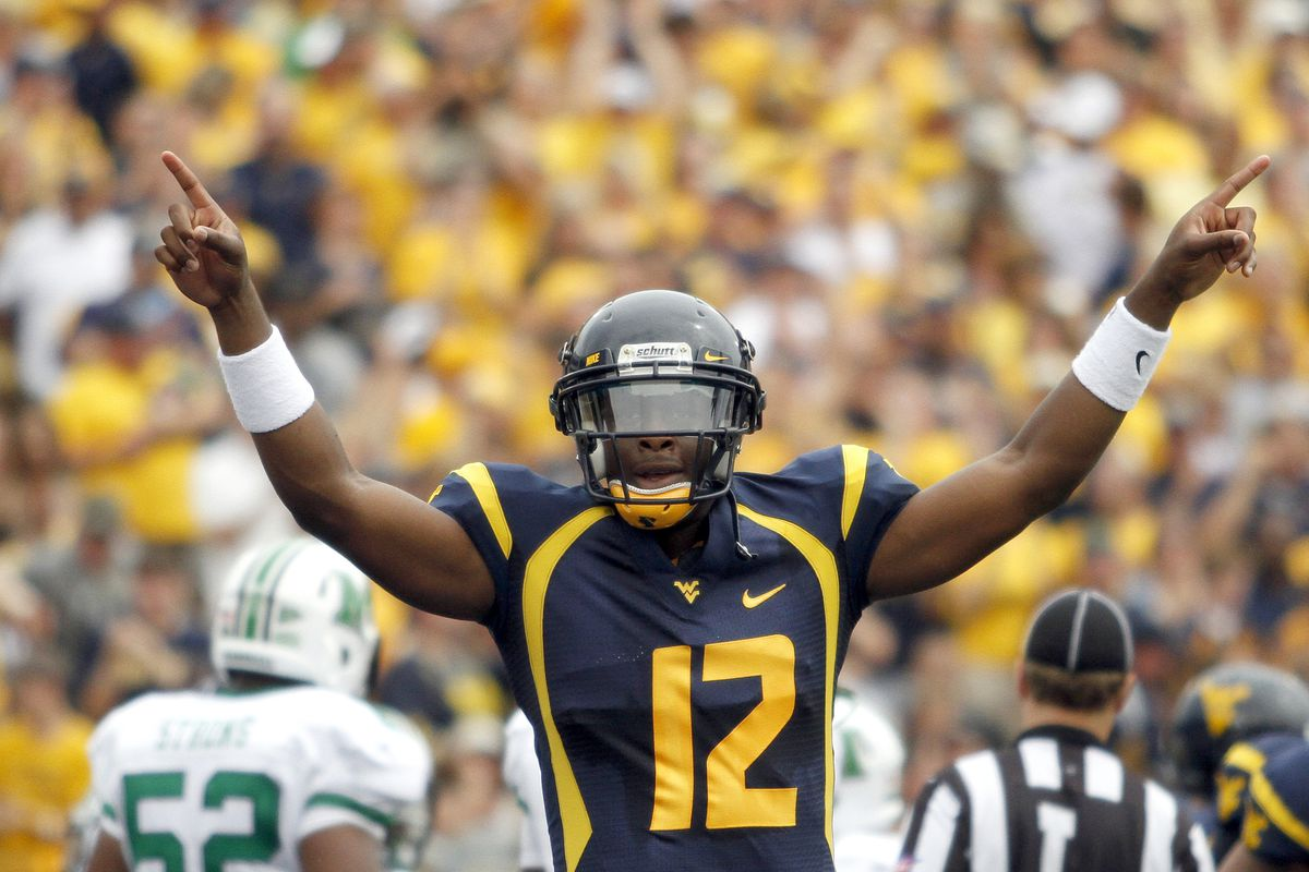 West Virginia is the top Big XII school in this week's BlogPoll  (Photo by Justin K. Aller/Getty Images)