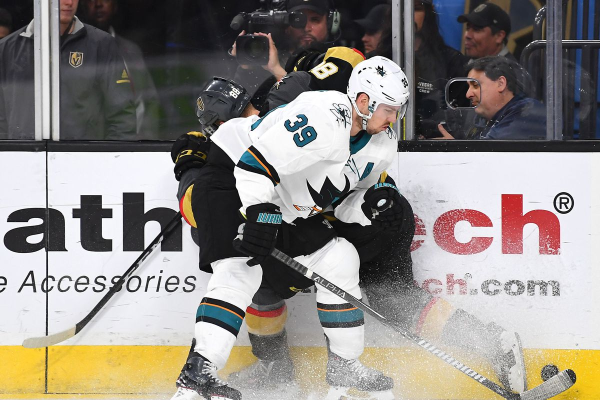 NHL: Stanley Cup Playoffs-San Jose Sharks at Vegas Golden Knights