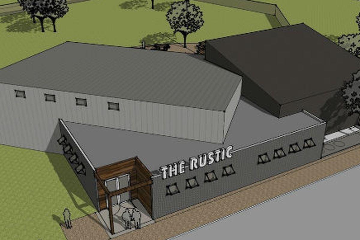 Artist's rendering of The Rustic.