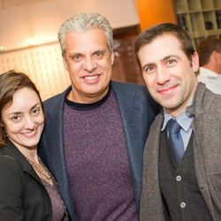 Ardesia owner Mandy Oser, the one and only Eric Ripert, and friend.