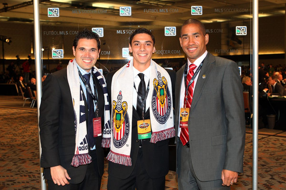 All three of these men are gone from Chivas USA