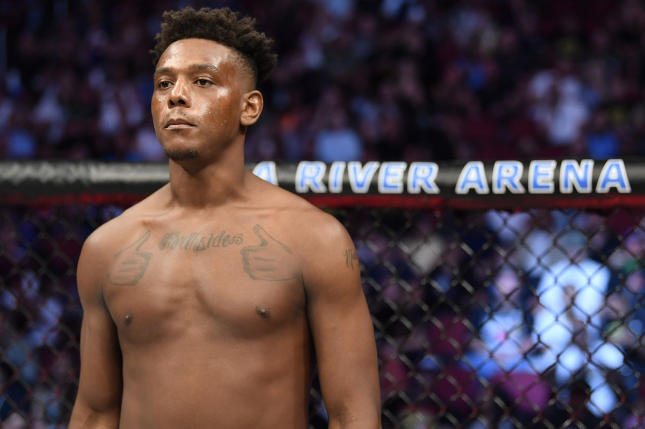 Hill addresses loss, dislocated arm at UFC 263