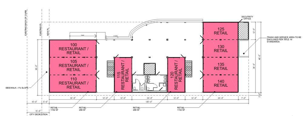 Pawn Plaza rendering- Chesnick Scott Design