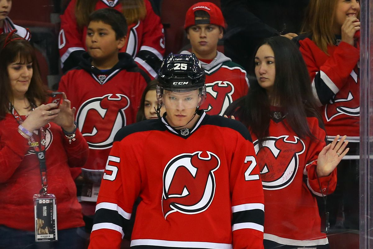 Where are the shots against the Devils coming from?  Seth Helgeson may know given his 35.5 SA/60 rate.