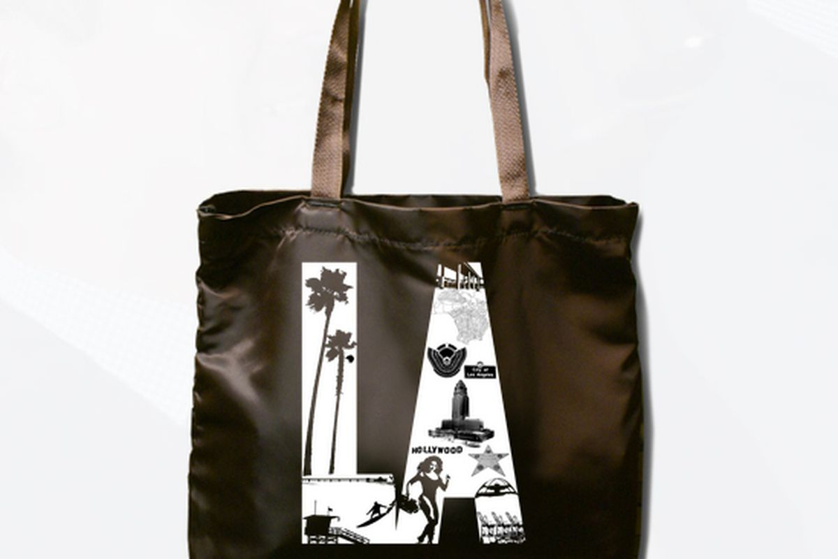 """Submission by Jimmy Gow. Image via <a href=""""http://www.ericgarcetti.com/tote_bag_design_contest"""">Eric Garcetti</a>"""