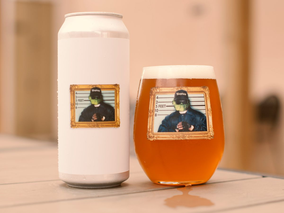 A Streets of Hopton West Coast IPA from the Answer Brewpub