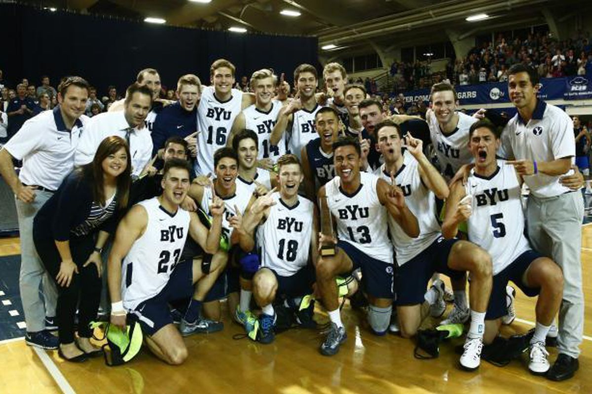 The BYU Cougars won the 2016 MPSF Championsip