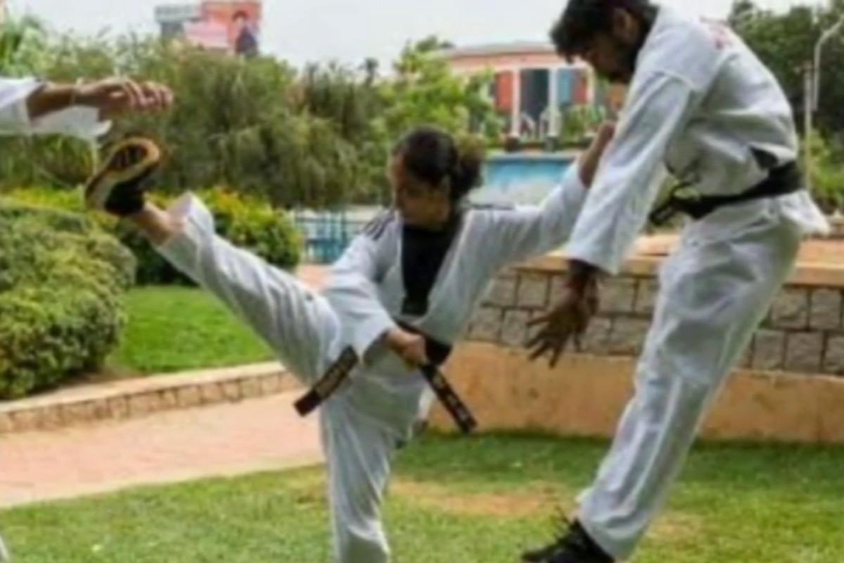 Kiran Deoli Uniyal holds 12 world records for various martial arts feats.