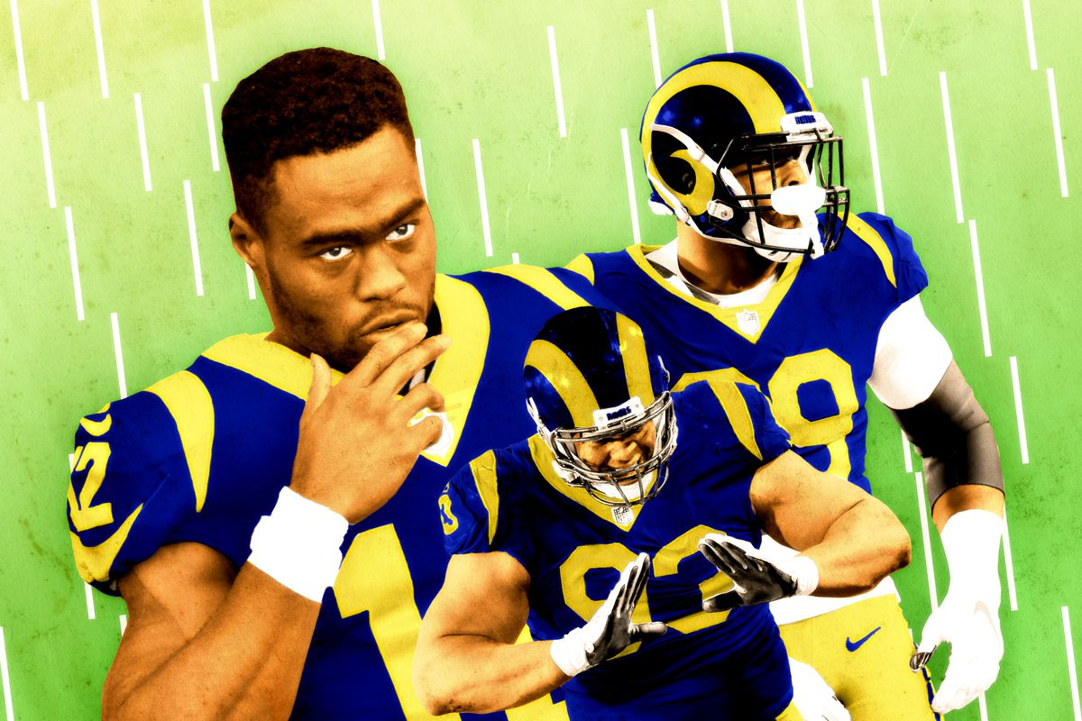 best cheap 537e3 f63d9 Brandin Cooks, Aaron Donald, and the Rams' Super Bowl–Worthy ...