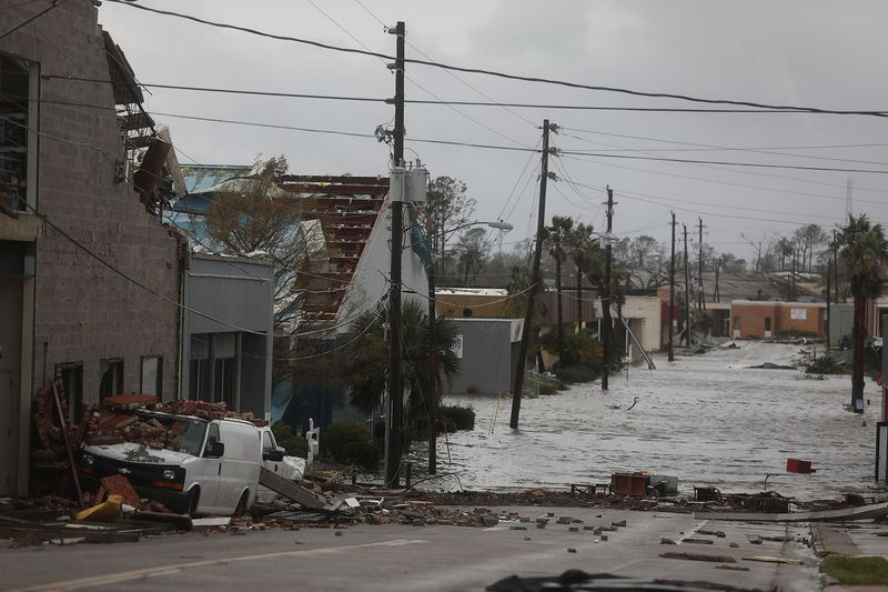 Hurricane Michael Slams Into Florida's Panhandle Region
