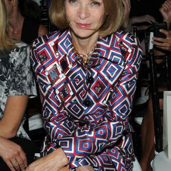 Anna Wintour attends the Jason Wu spring 2013 show, Friday, Sept. 7, 2012 in New York.