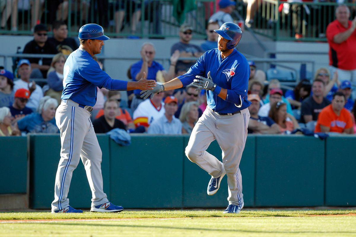 Colabello hits first HR for Buffalo