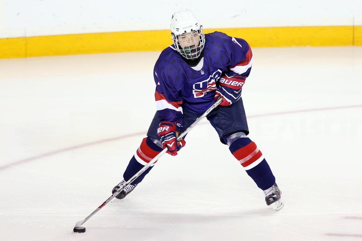USA v Canada - 2016 IIHF U18 Women's World Championship