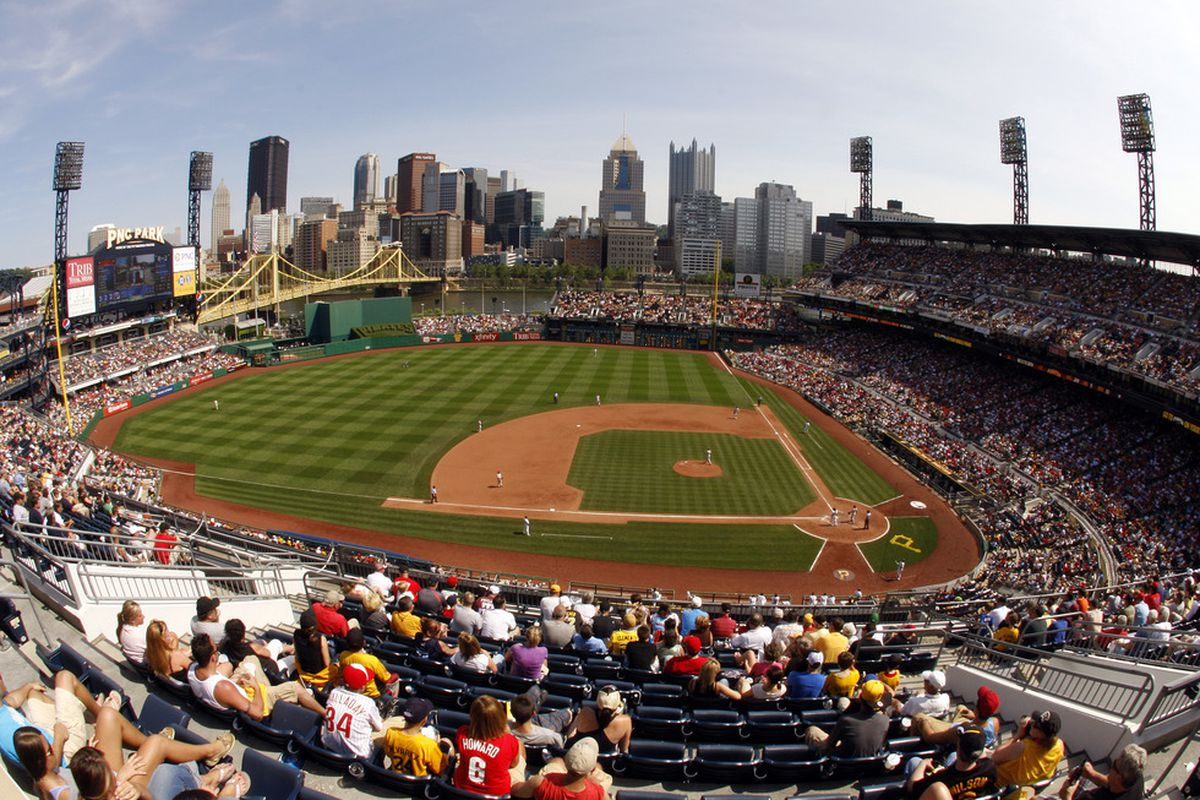 Pittsburgh's PNC Park: heaven for baseball fans, hell for the Phillies. (Photo by Justin K. Aller/Getty Images)
