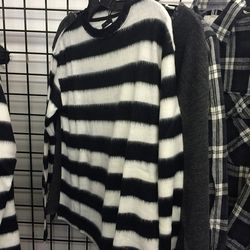 Striped knit, $50
