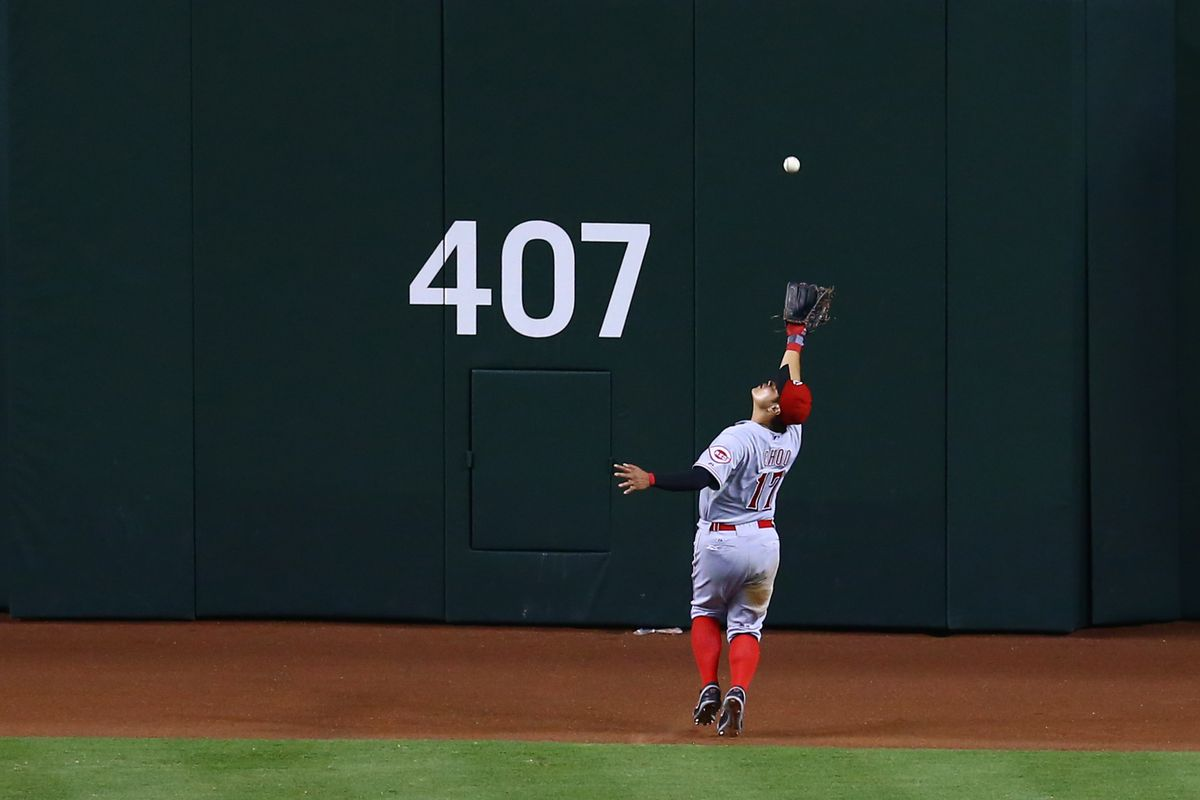 Unfortunately for A's fans, the 407 sign undershoots Choo's 2013 OBP.