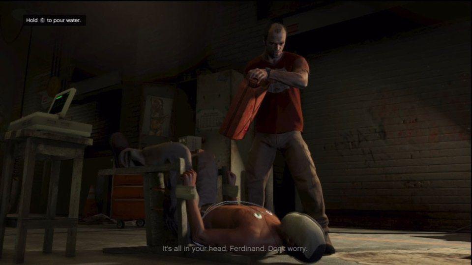 GTA 5 torture