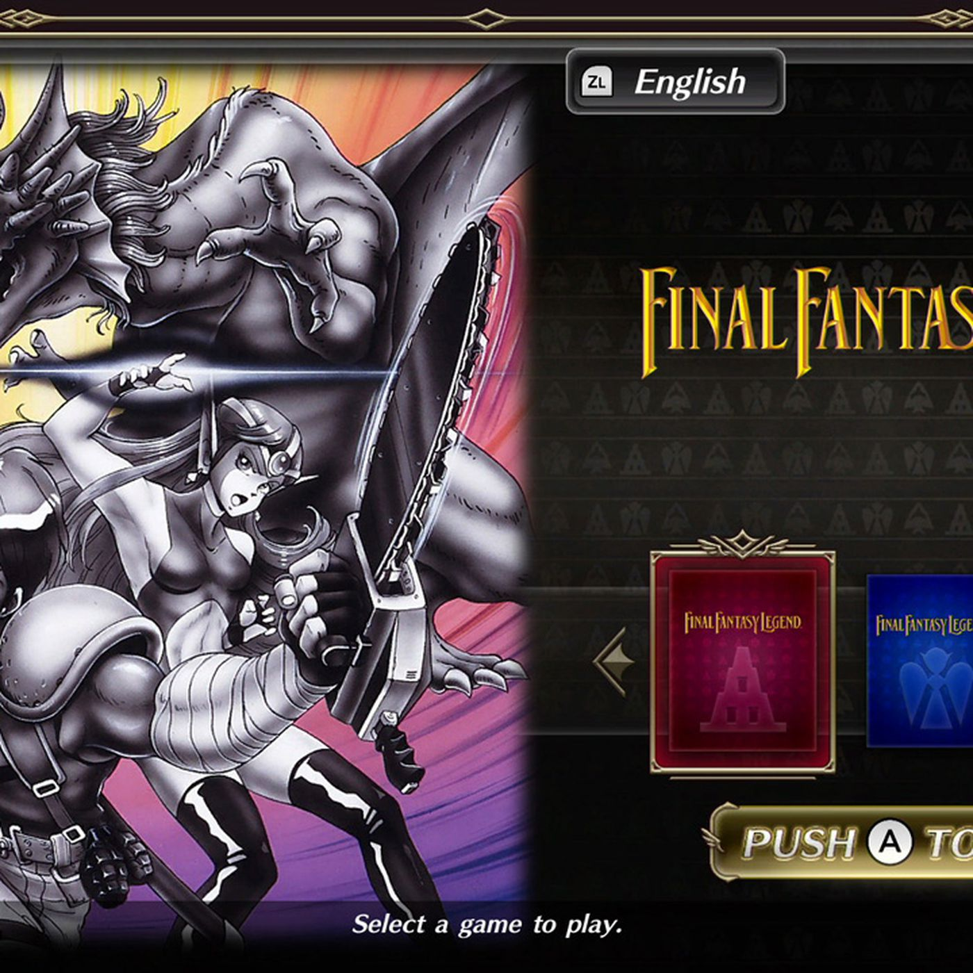 Collection Of Saga Final Fantasy Legend Coming To Nintendo Switch Polygon