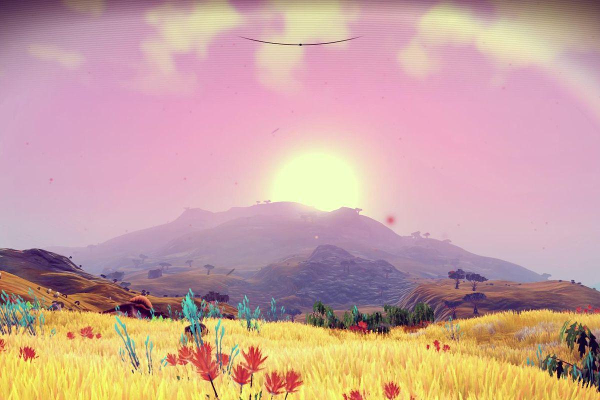 No Man's Sky Foundation Update - savanna planet