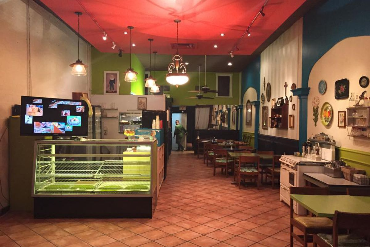 Bohemian Cafe on Lowest Greenville.
