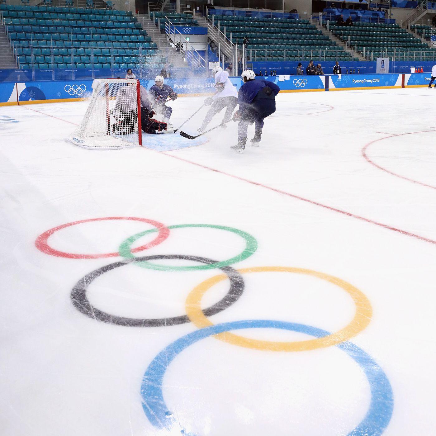 Winter Olympic men s ice hockey 2018  Time 11f96e953