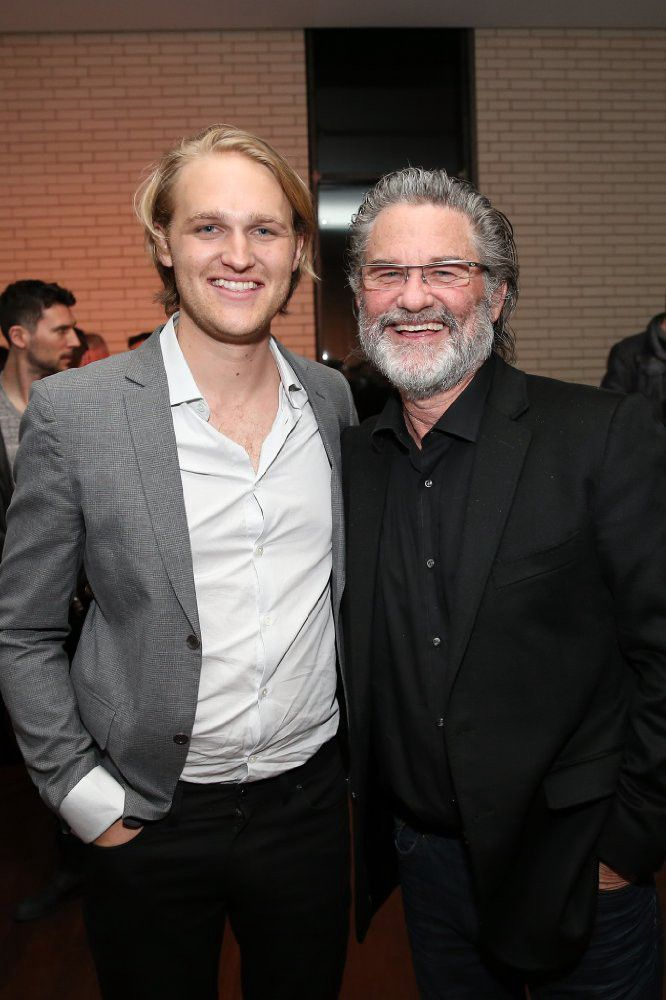 Wyatt and Kurt Russell (GettyImages)