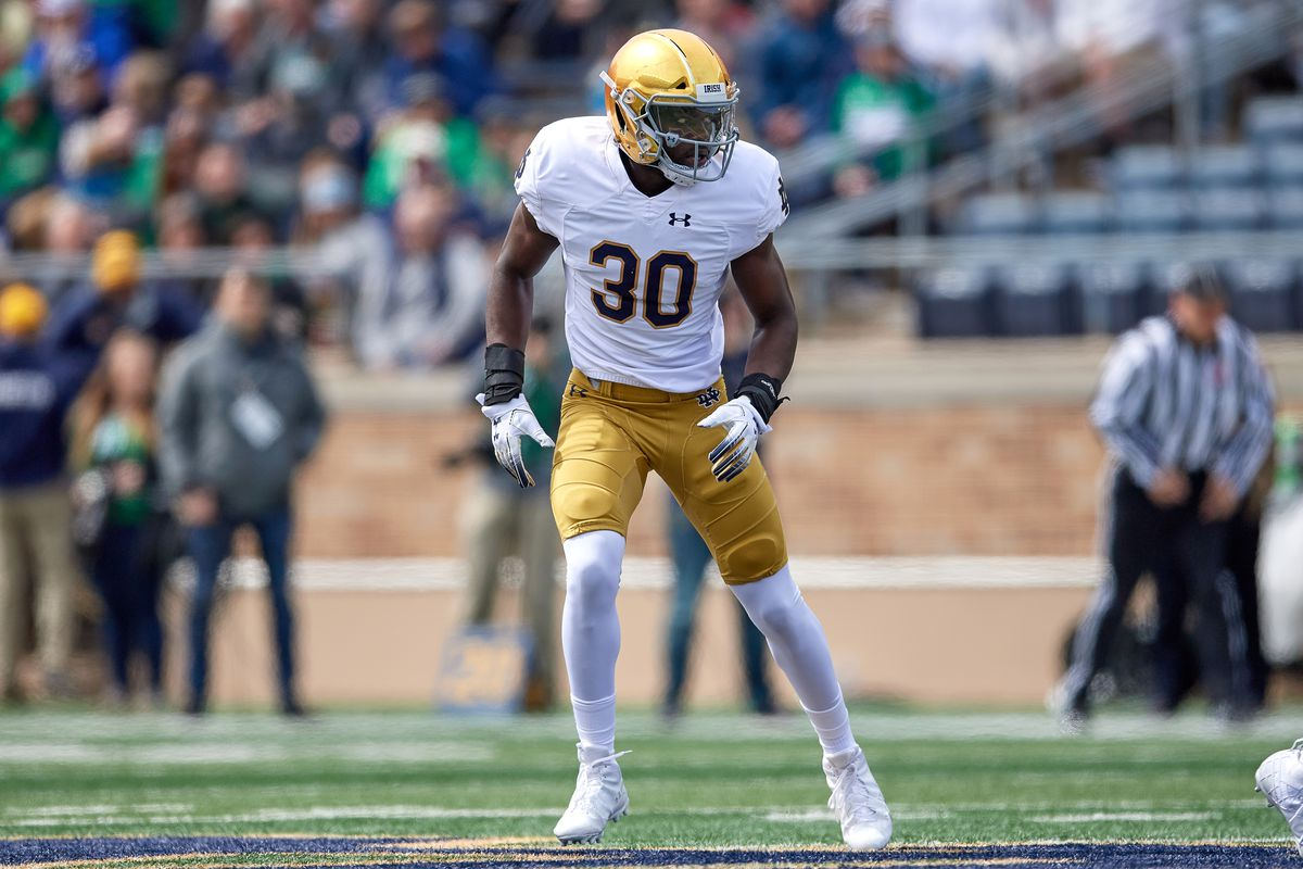 COLLEGE FOOTBALL: APR 13 Notre Dame Spring Game