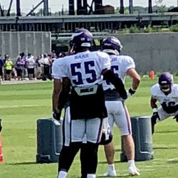 Anthony Barr was back in action today.