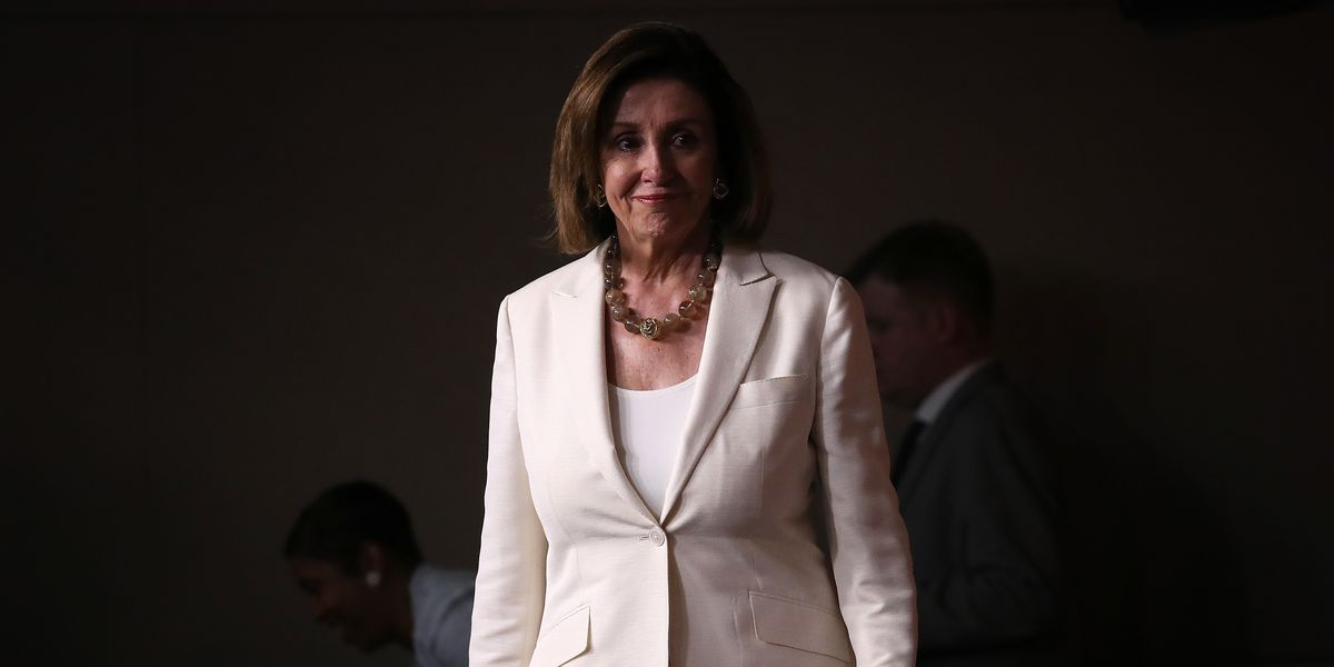 Speaker Of The House Nancy Pelosi Addresses The Media In Weekly Press Conference