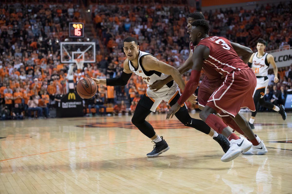 NCAA Basketball: Oklahoma at Oklahoma State