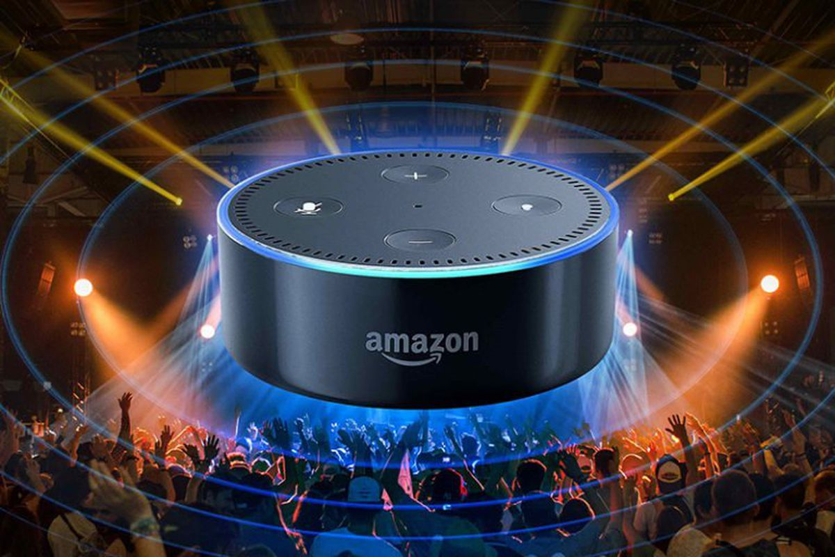 Many Christians have concerns with voice assistants and smart speakers, such as Amazon's Echo Dot, shown here.