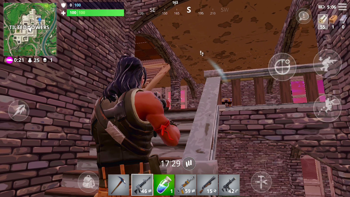 Fortnite for iPhone makes footsteps, gunfire visible so you can play