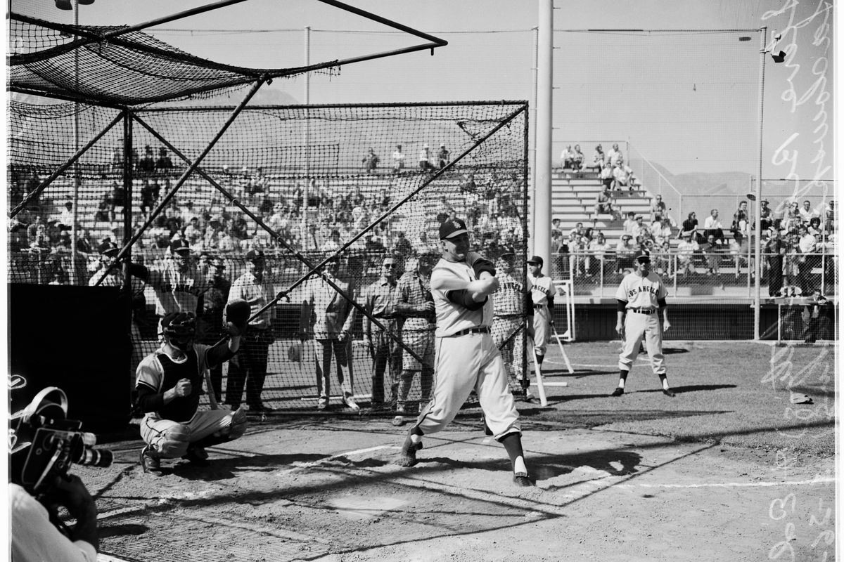 Baseball — Los Angeles Angels, 1961