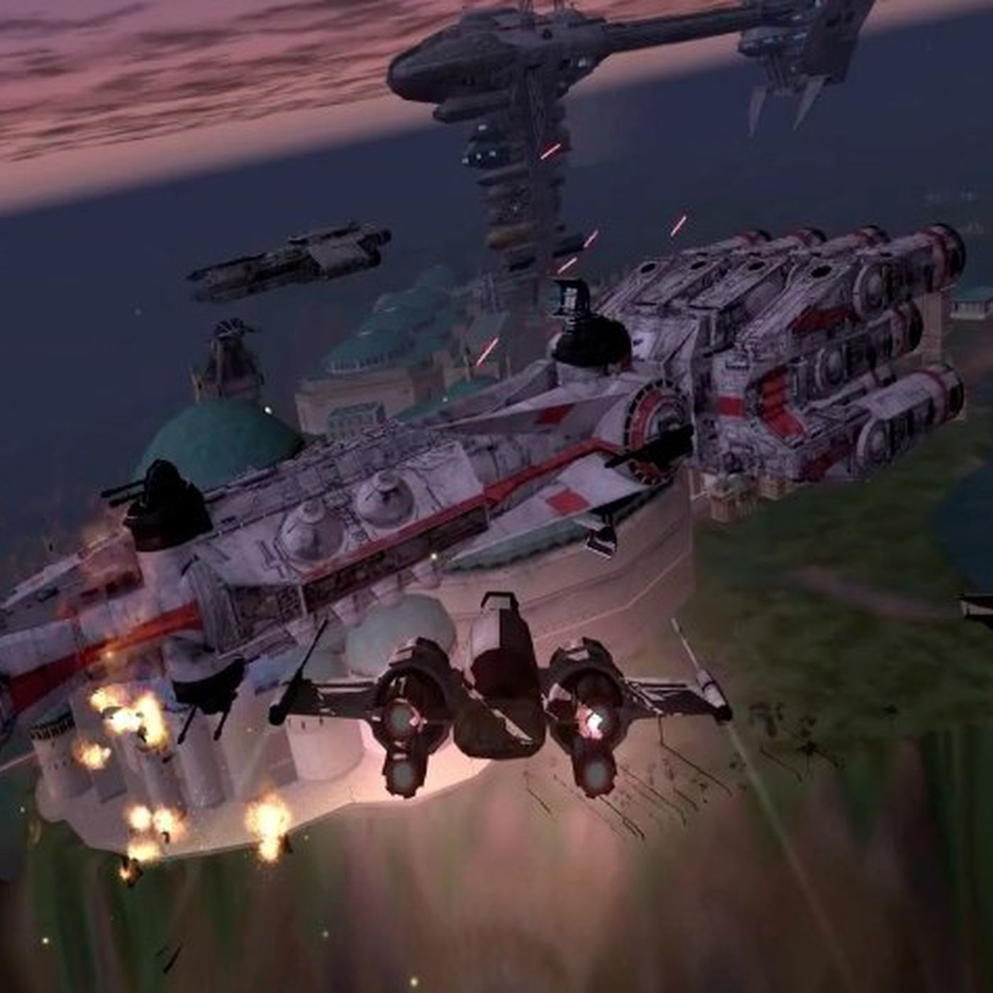 The End Of A World The Last 10 Minutes Of Star Wars Galaxies The
