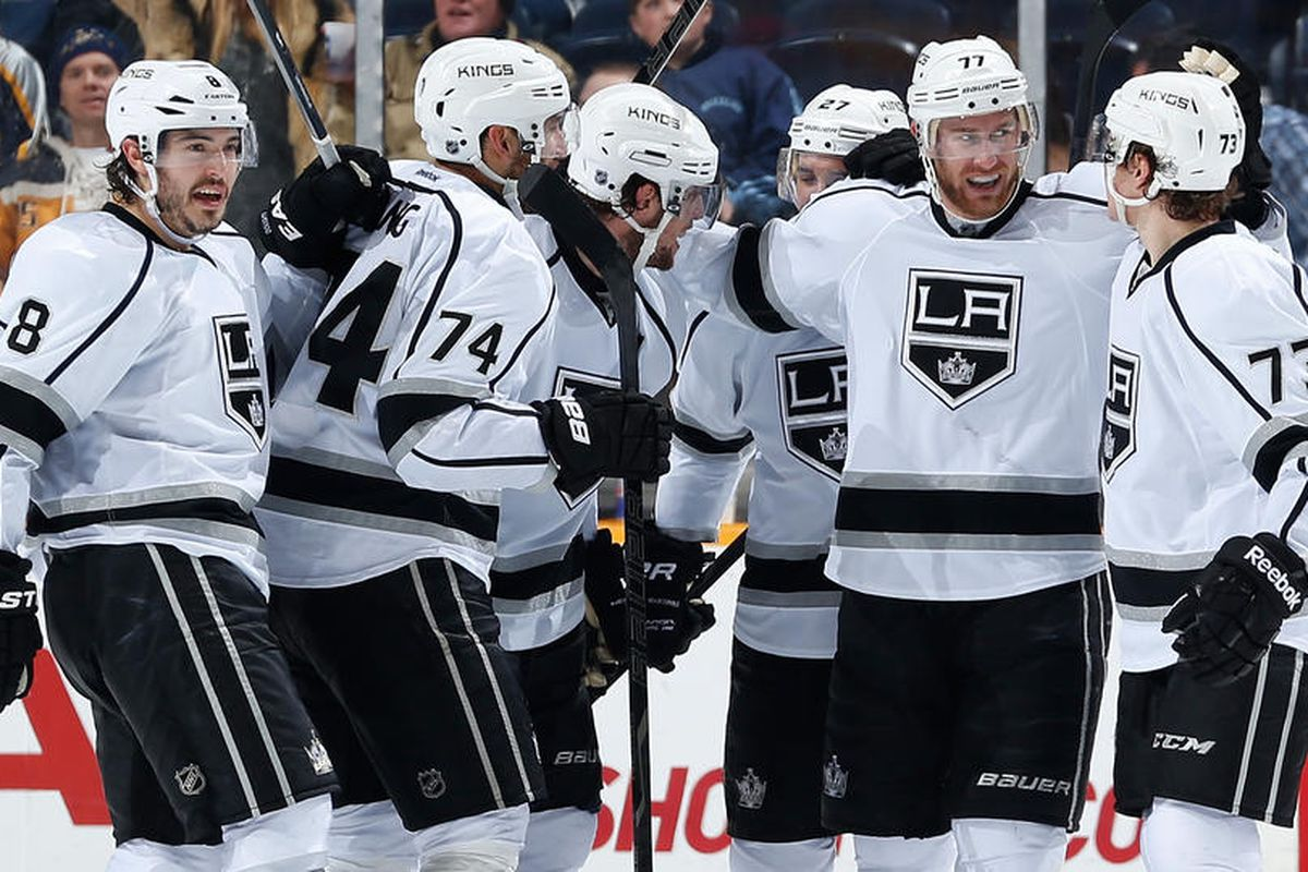 This is Jeff Carter's world and we're just living in it.