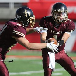 Lone Peak versus American Fork. 5A Football at Rice Eccles Stadium in Salt Lake City on Thursday, Nov. 10, 2016.