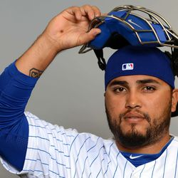 """""""Aw, look. You made me take it off. Careful what you wish for!"""" -- Dioner Navarro"""