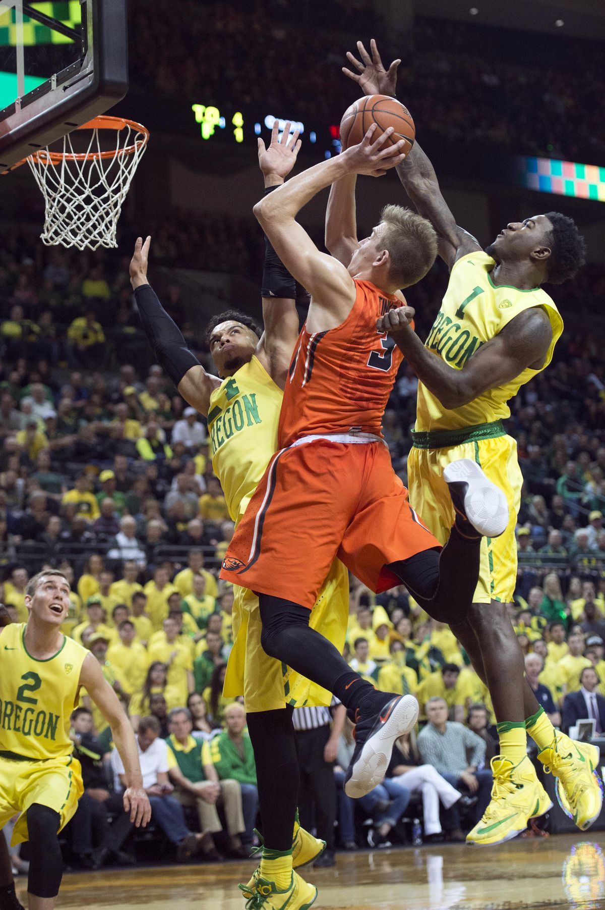 NCAA Basketball: Oregon State at Oregon