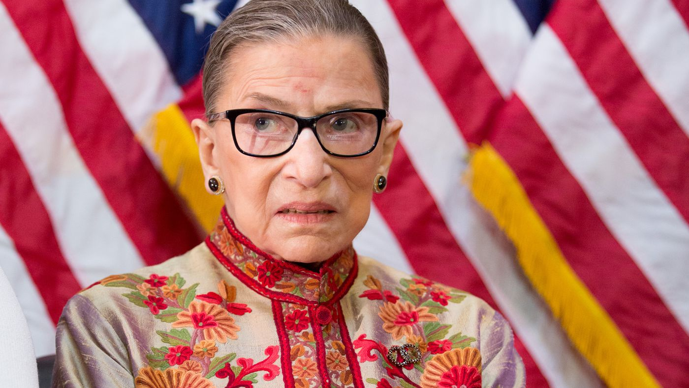 The controversy over Ruth Bader Ginsburg attacking Donald Trump, explained