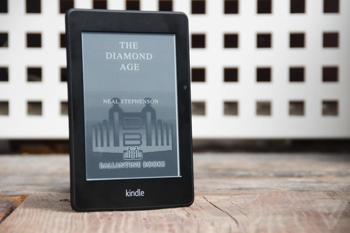 Amazon Kindle or a young lady's illustrated primer? - The Verge