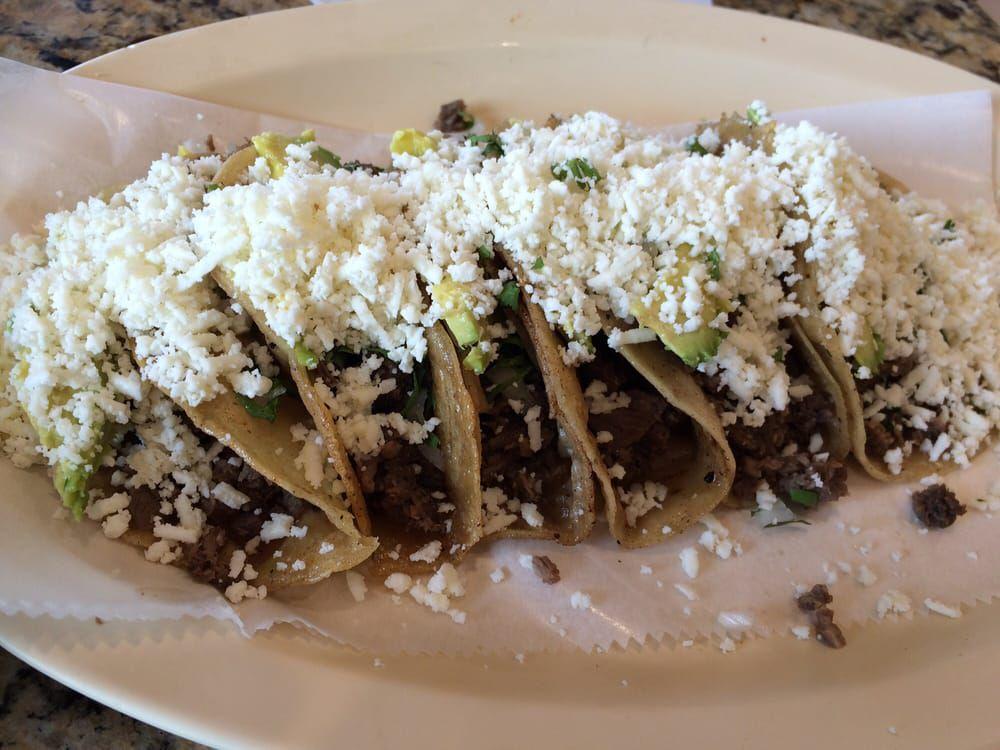 Bistec tacos from Taqueria Ultimo Taco