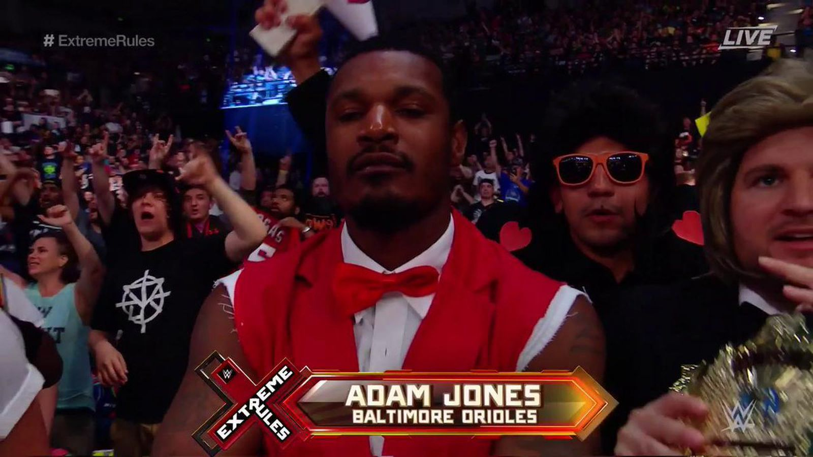 Adam Jones Cosplaying As Virgil Might Be The Best Thing About Extreme Rules