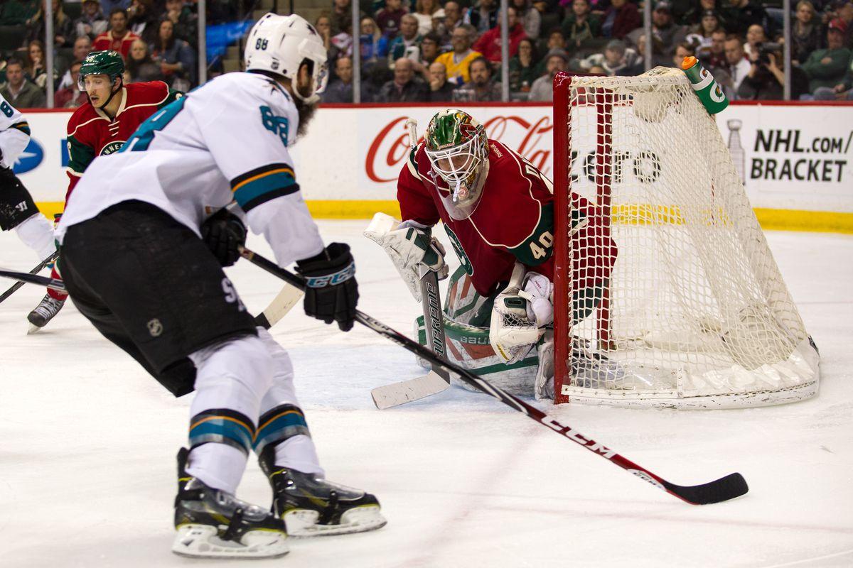 NHL: APR 05 Sharks at Wild