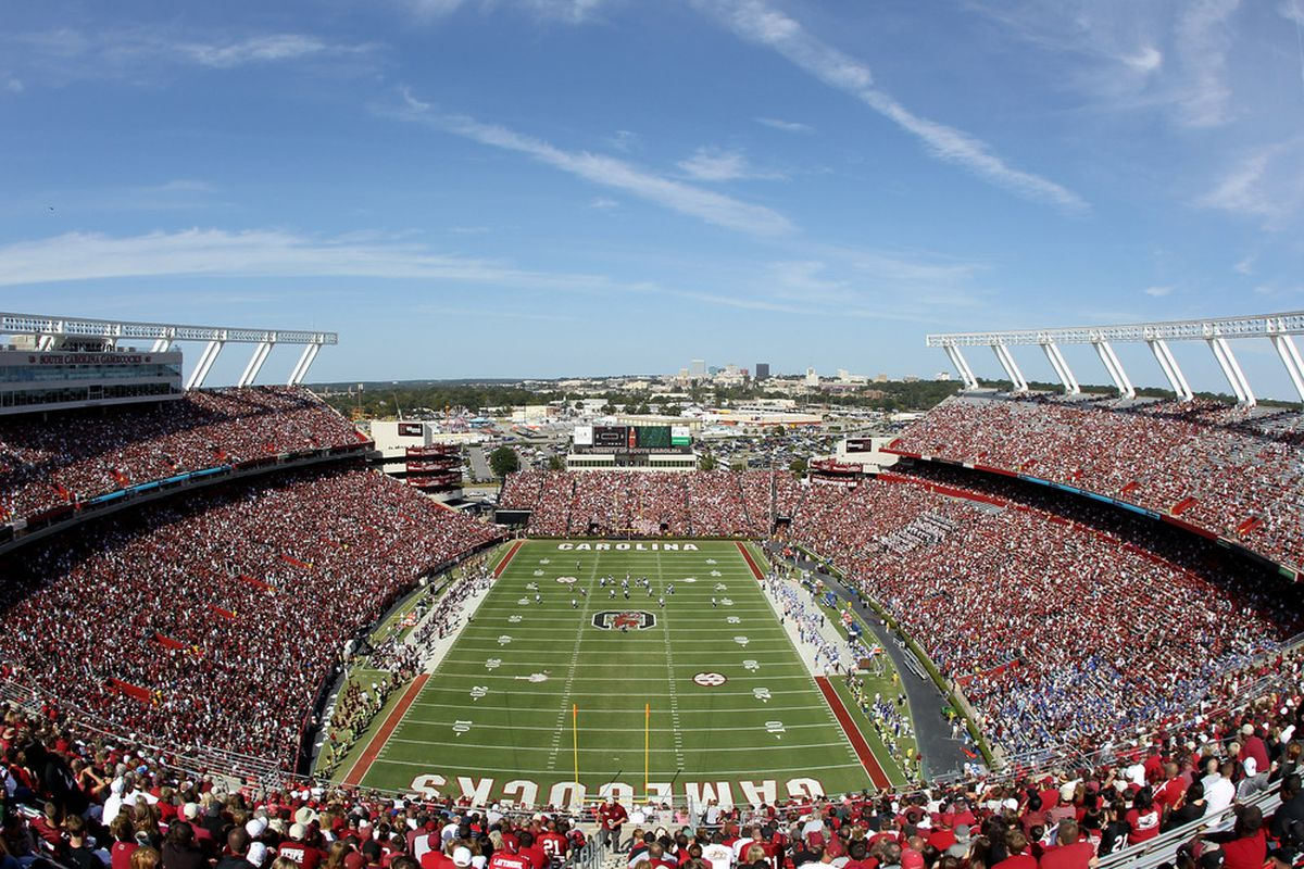 Williams-Brice Stadium will have a new video board this year, partly to help encourage fans to pick bleachers over the couch for their game day experience.