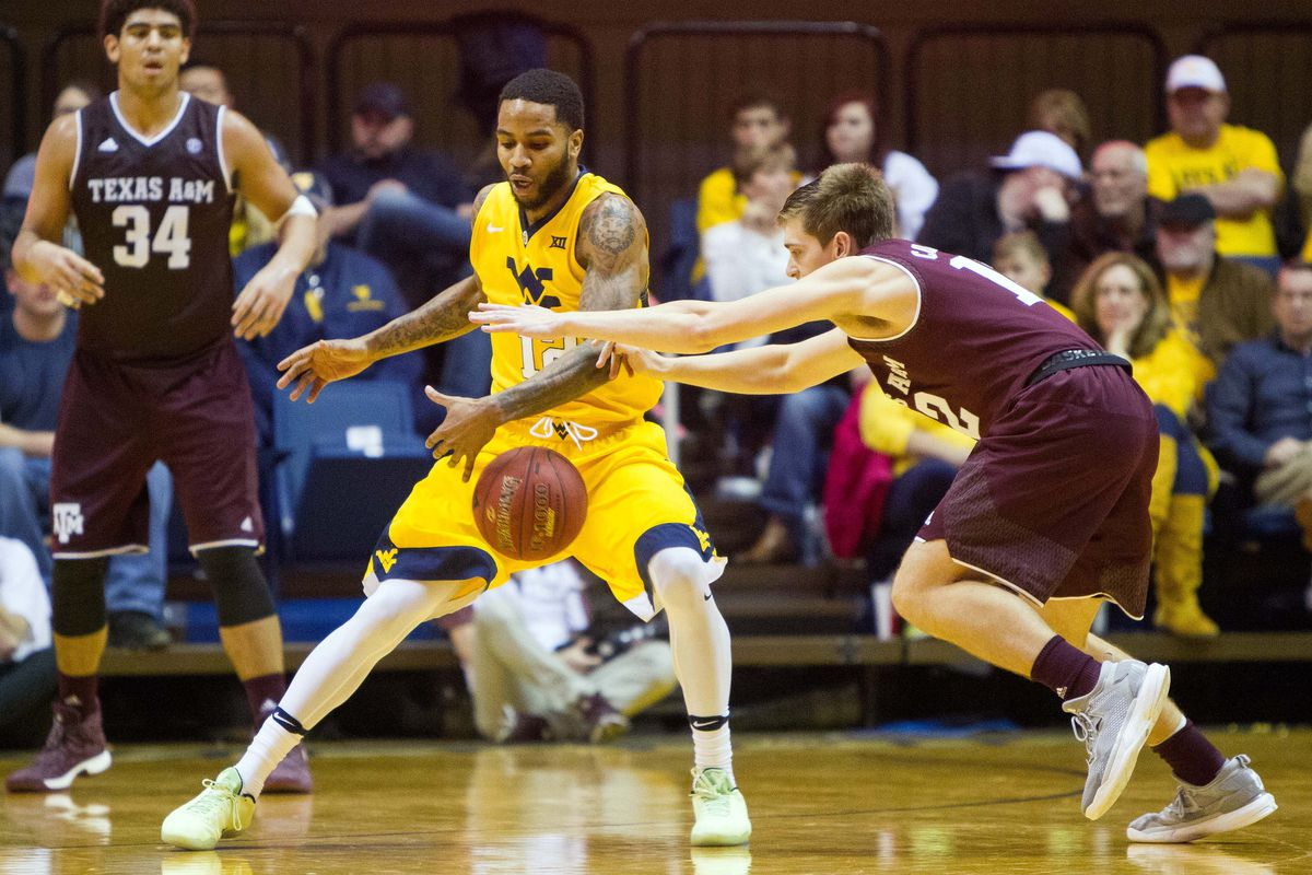 NCAA Basketball: Texas A&M at West Virginia